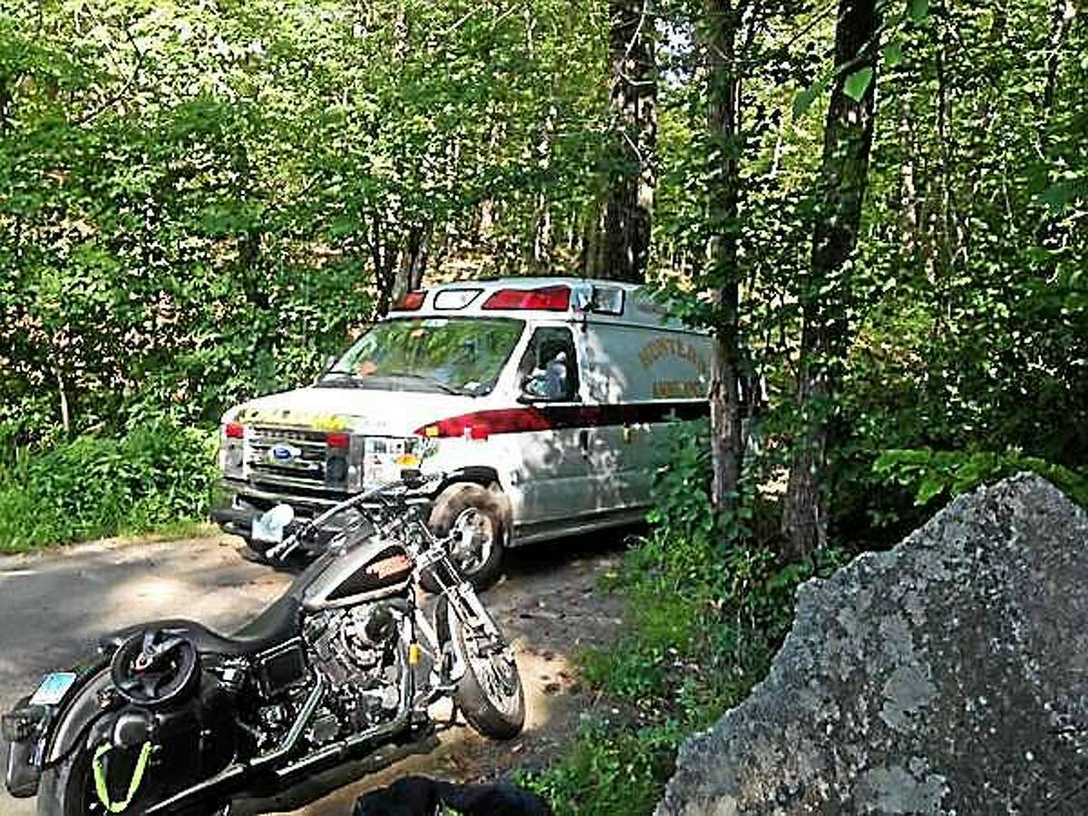 Emergency workers rescued a 26-year-old Portland man from a quarry in the woods off Bow Lane in Middletown Wednesday. He later died from his injuries.