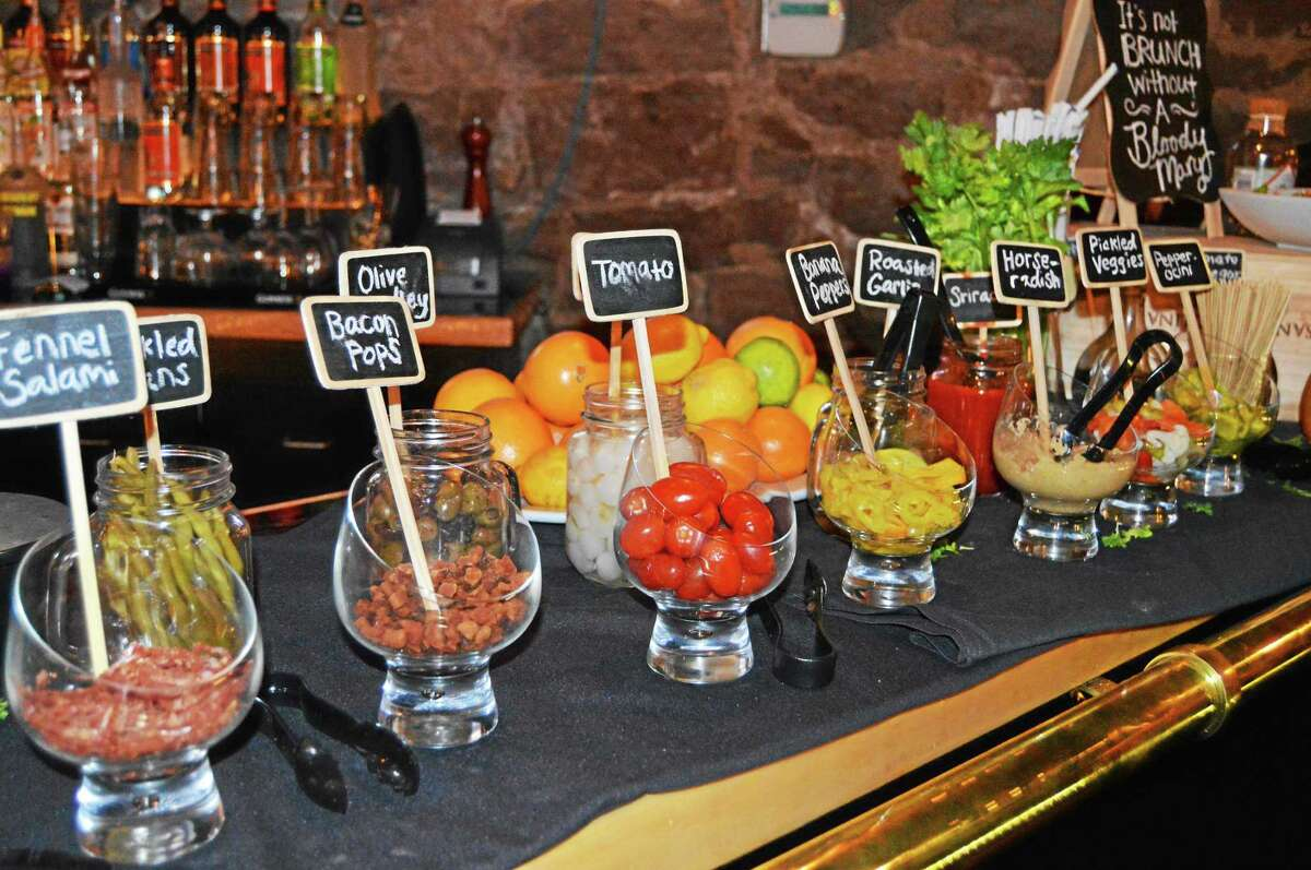 Celtic Cavern of Middletown unveiled its Bloody Mary bar in February.