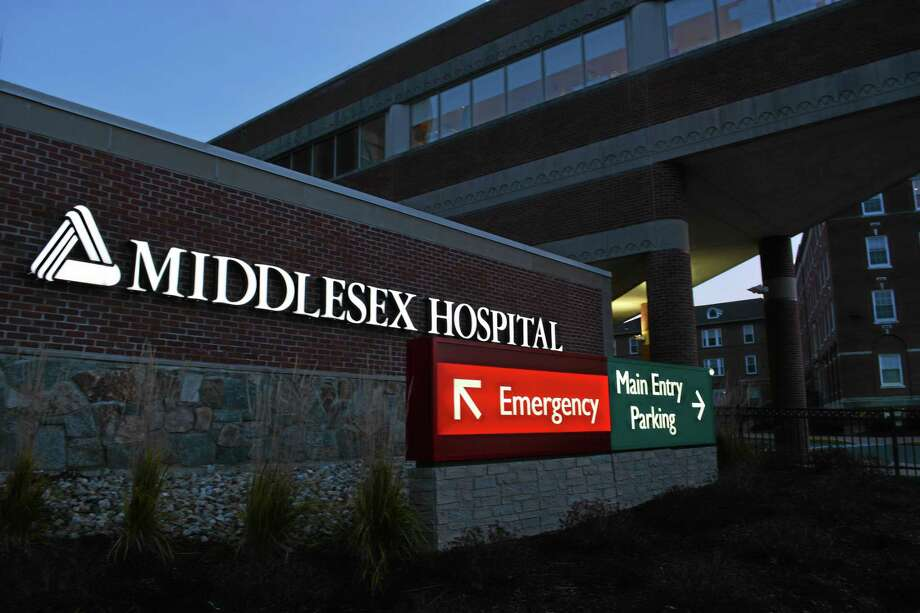 Middlesex Hospital is located at 28 Crescent St. Photo: Sam Norton — The Middletown Press