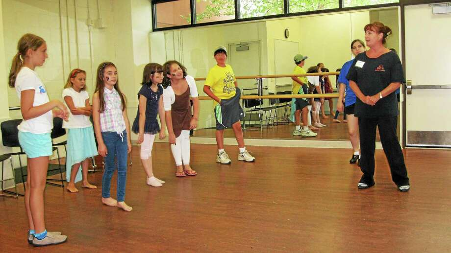 Dozens enjoyed Family Arts Day at the Warner Theater Center for Arts Education in Torrington on Saturday. Photo: Nick Onion - Special To The Register