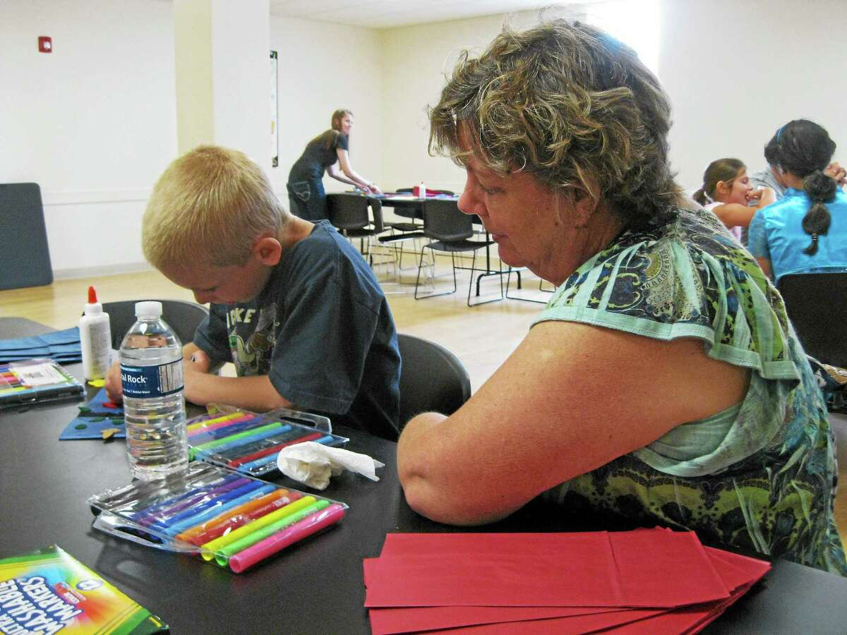 Dozens enjoyed Family Arts Day at the Warner Theater Center for Arts Education in Torrington on Saturday.