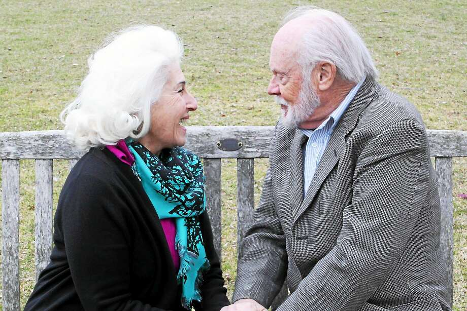 """Photos by Anne Hudson Rochelle Slovin* and Chet Carlin in """"The Last Romance"""" opening April 22 at the Ivoryton Playhouse. Photo: Journal Register Co."""