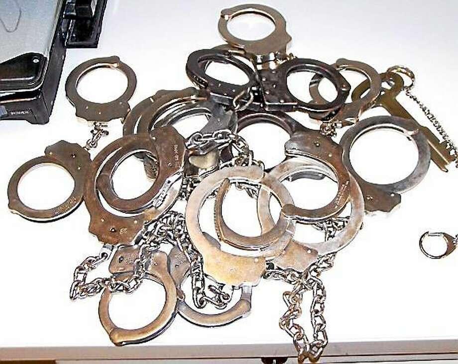 Handcuffs Photo: File Photo