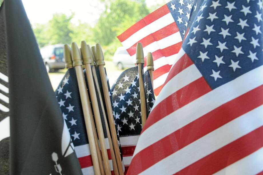 American flags Photo: File Photo