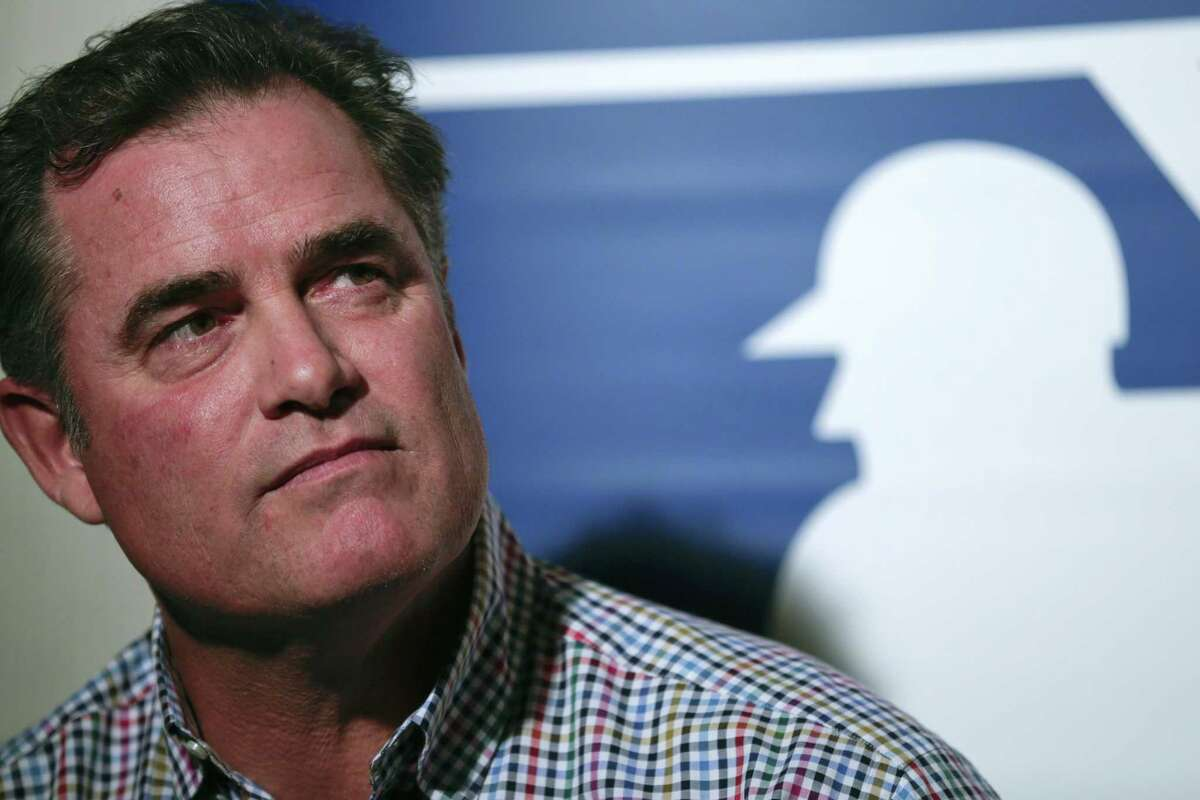 Boston Red Sox manager John Farrell speaks to reporters during Major League Baseball's winter meetings on Monday in San Diego.
