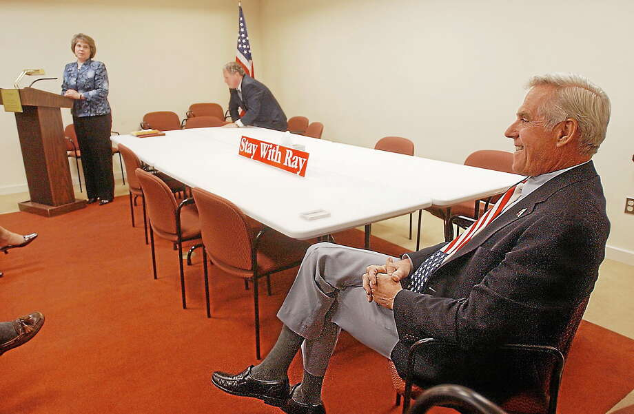 Former first selectman of Durham and state Rep. to the 100th Assembly District Ray Kalinowski is shown in this file photo. Photo: Middletown Press File Photo