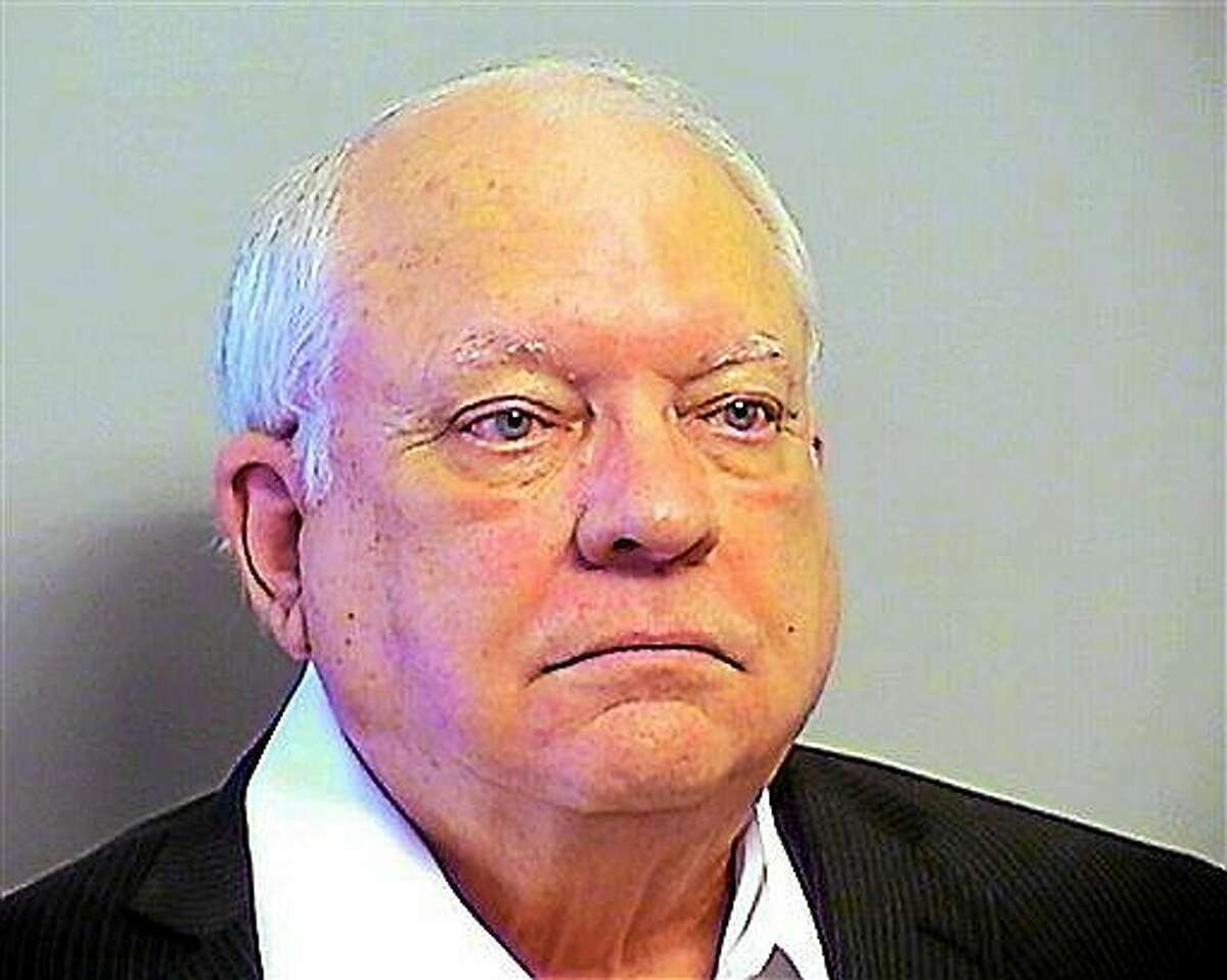 This Tuesday, April 14, 2015 photo provided by the Tulsa County, Oklahoma, Sheriff's Office shows Robert Bates. The 73-year-old Oklahoma reserve sheriff's deputy, who authorities said fatally shot a suspect after confusing his stun gun and handgun, was booked into the county jail Tuesday on a manslaughter charge. Bates surrendered to the Tulsa County Jail and was released after posting $25,000 bond.