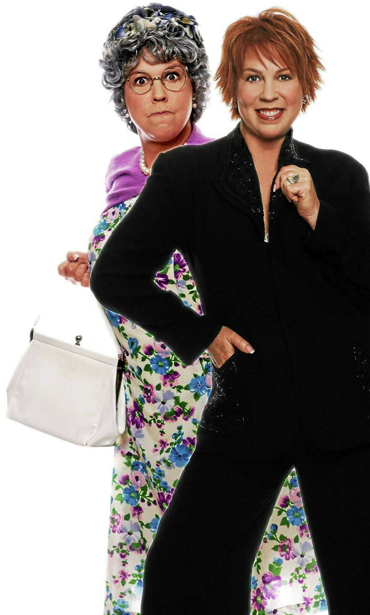 """Contributed photo Actress and singer Vicki Lawrence presents her """"two woman show,"""" Vicki and Mama, at the Palace Theater in Waterbury on Saturday, April 18."""