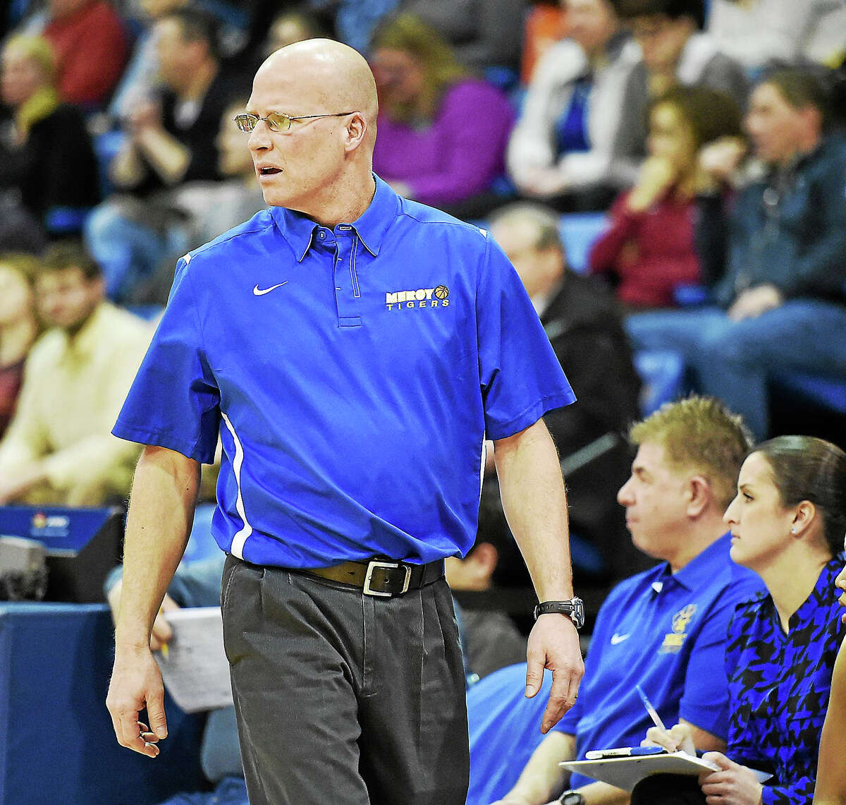 Mercy coach Tim Kohs will have the Tigers competing again for Southern Connecticut Conference and Class LL titles in 2015-16.