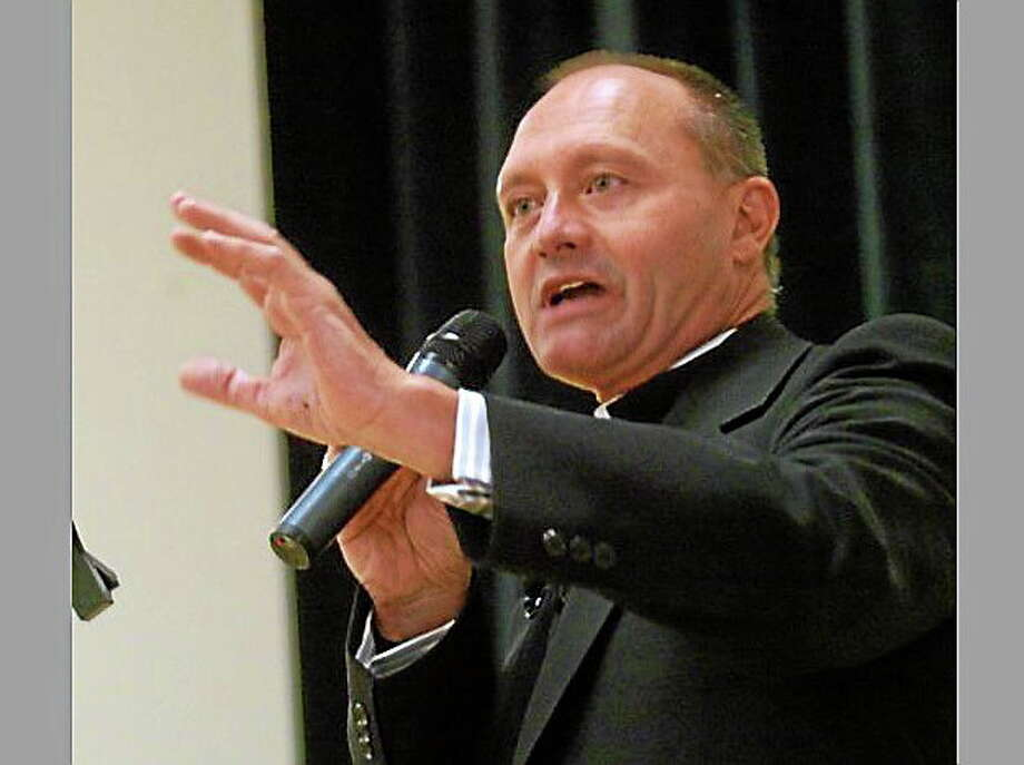 Monsignor Kevin Wallin Photo: Credit: Screenshot Via Ctpost.com
