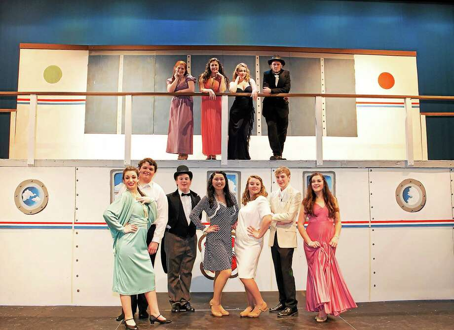 """Sandy Aldieri Middletown High School is staging """"Anything Goes"""" this weekend. Photo: Journal Register Co."""