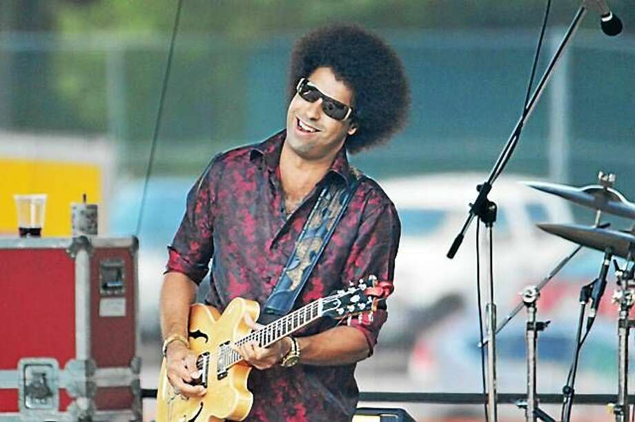 Photo by Dom Forcella Rising star Selwyn Birchwood hits Black-eyed Sally's Friday, Aug. 21. Photo: Journal Register Co.