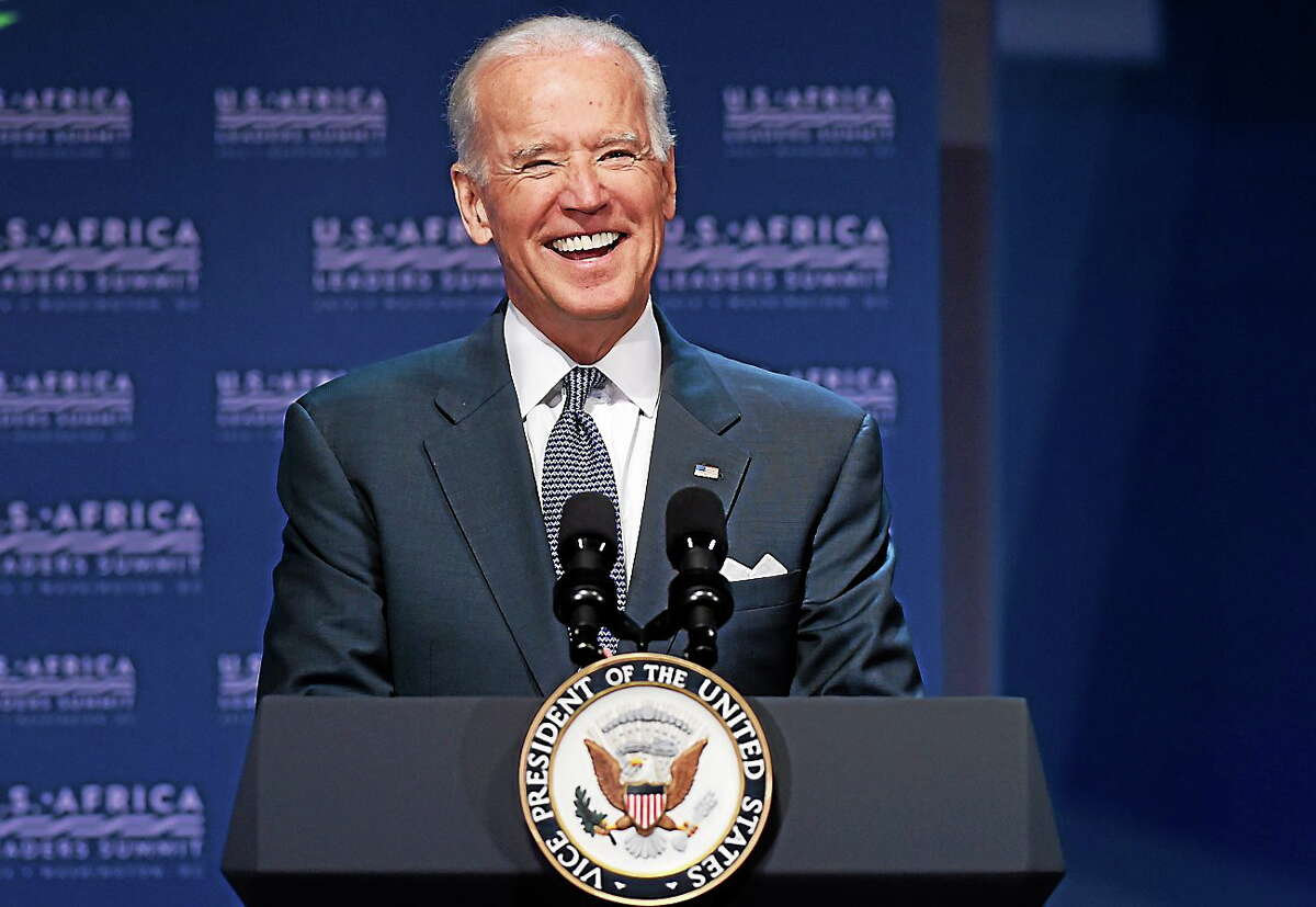 Vice President Joe Biden speaks in Washington on Aug. 4, 2014, during the Civil Society Forum of the US Africa Summit.