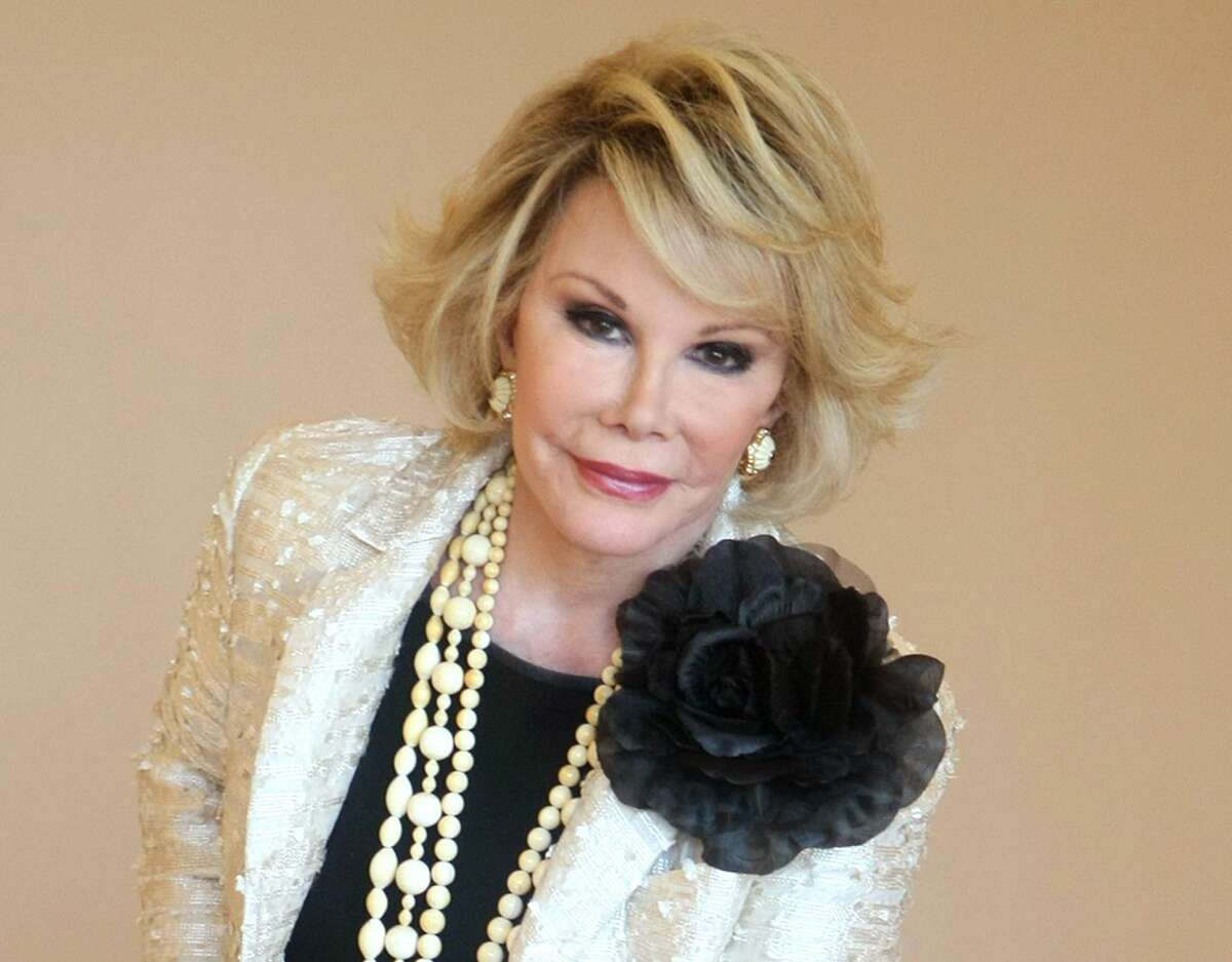 This Oct. 5, 2009 photo shows Joan Rivers during the 25th International Film and Programme Market for TV, Video, Cable and Satellite, in Cannes, southeastern France.