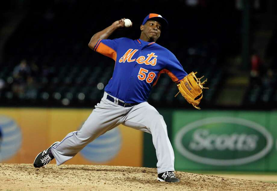 New York Mets closer Jenrry Mejia was suspended 80 games on Saturday. Photo: Tony Gutierrez — The Associated Press  / AP