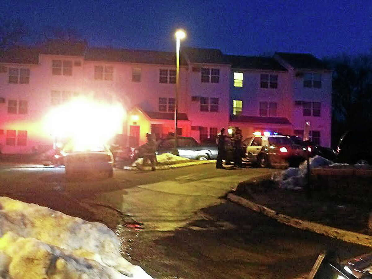 Authorities at scene of fatal West Haven fire.