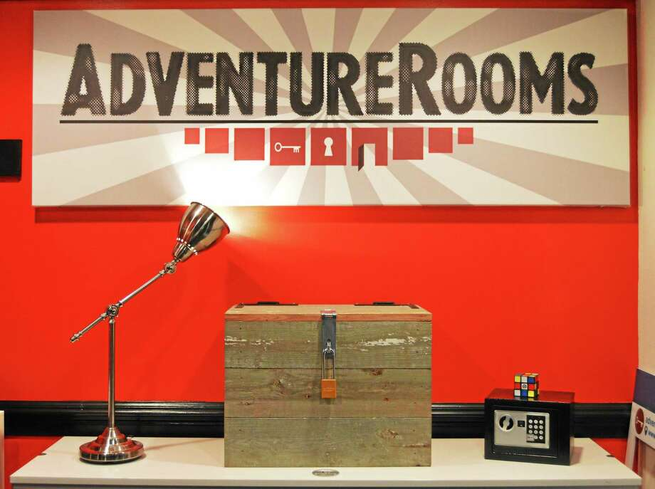 Julie Rancourt — Special to the Press  Those who engage in escape room adventures —something that originated in the California gaming world in 2006 — say the experience can be visceral, cerebral and transformative. Photo: Journal Register Co.
