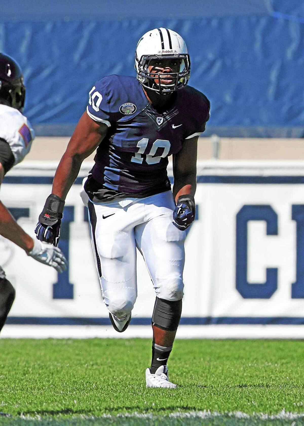 Victor Egu is expected to a major factor for an improved Yale defense next season.