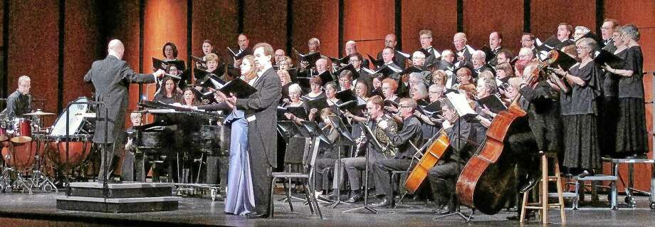 """Submitted photo - GM Chorale The GM Chorale and the New Haven Symphony Orchestra will perform Handel's """"Messiah"""" at the Performing Arts Center at Middletown High School Dec. 21. Photo: Journal Register Co."""