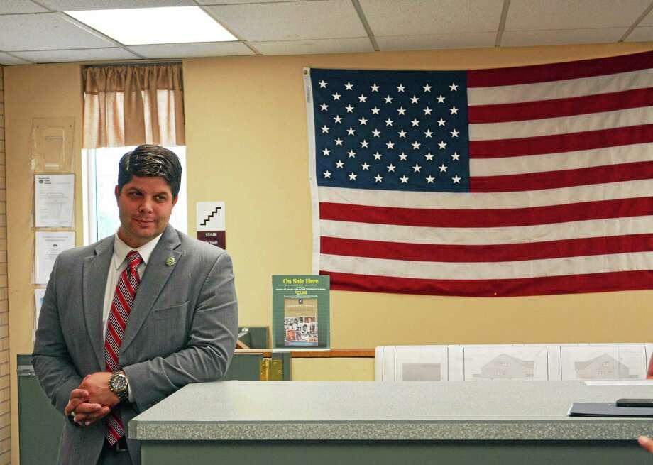 Middletown Mayor Dan Drew Photo: Cassandra Day - The Middletown Press