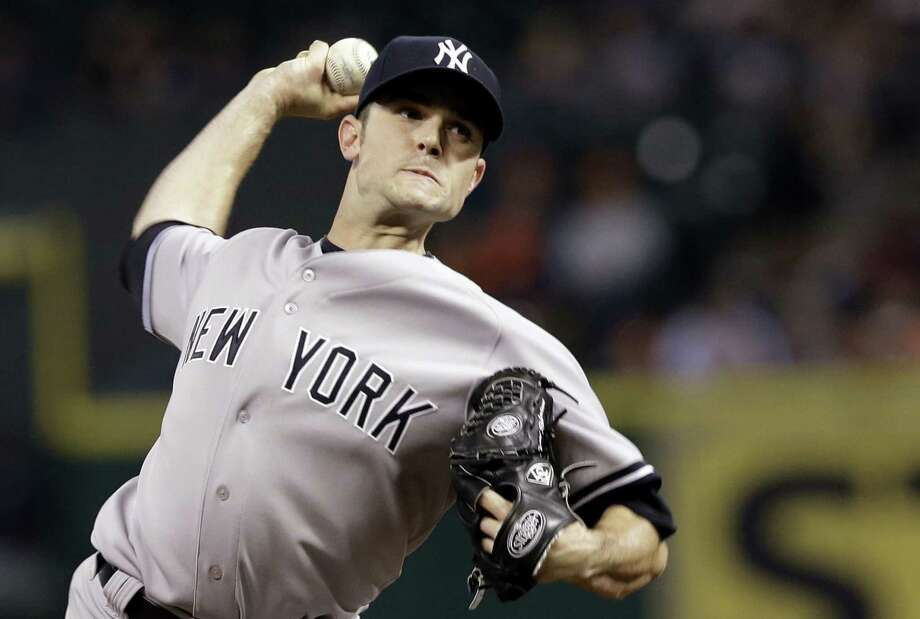 Former New York Yankees closer David Robertson agreed to a $46 million, four-year contract with the Chicago White Sox. Photo: Pat Sullivan — The Associated Press File Photo  / AP