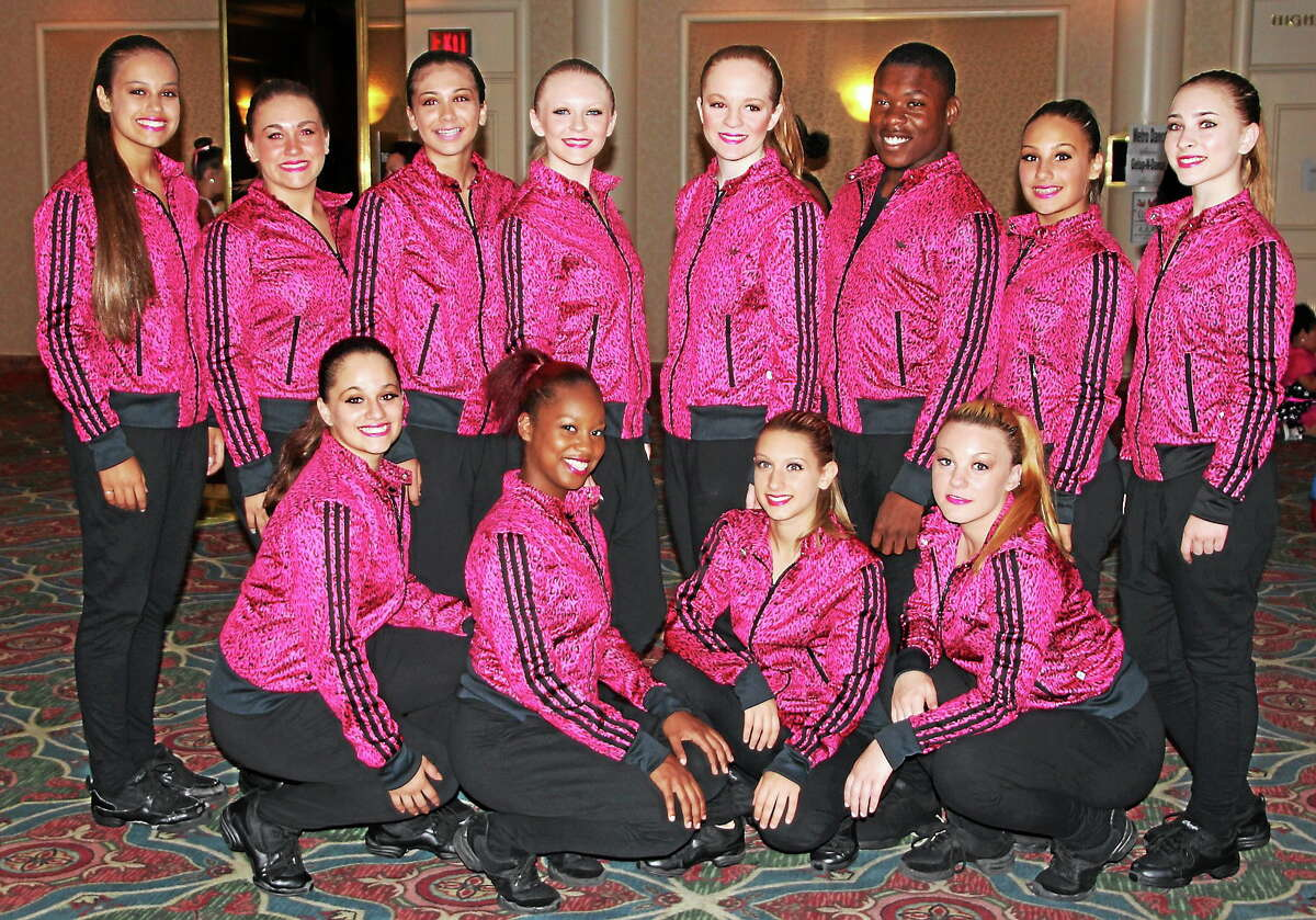 The team for Caffery's Dance and Gymnastics School in Middletown recently took first at the That's Entertainment National Dance Championships in Atlantic City.