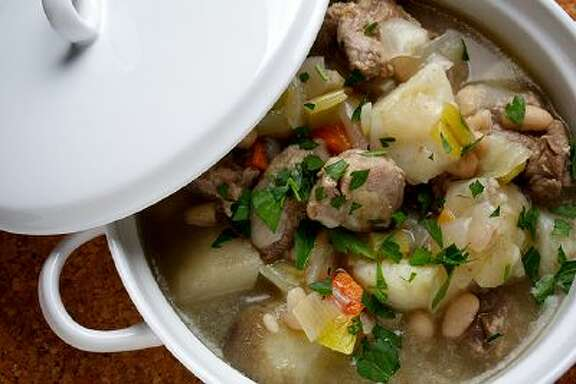 This Irish Stew is a little closer to the real deal, but still adapted for more contemporary tastes. Illustrates FOOD-IRISH (category d), by Bonnie Benwick &Copy; 2014 The Washington Post. Moved Tuesday, March 11, 2014. (MUST CREDIT: Photo for The Washington Post by Deb Lindsey)