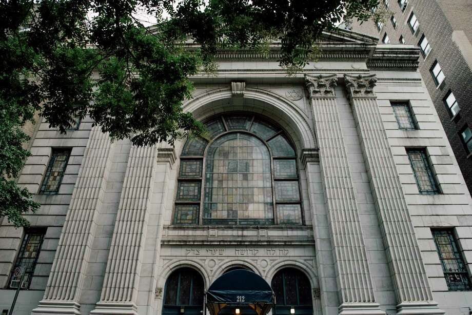 Plans call for the Shaare Zedek synagogue on the Upper West Side of Manhattan to be sold to a developer for $34 million. The building would be replaced by a 14-story tower, with the synagogue owning and occupying the first three floors. Photo: VINCENT TULLO, STR / NYTNS