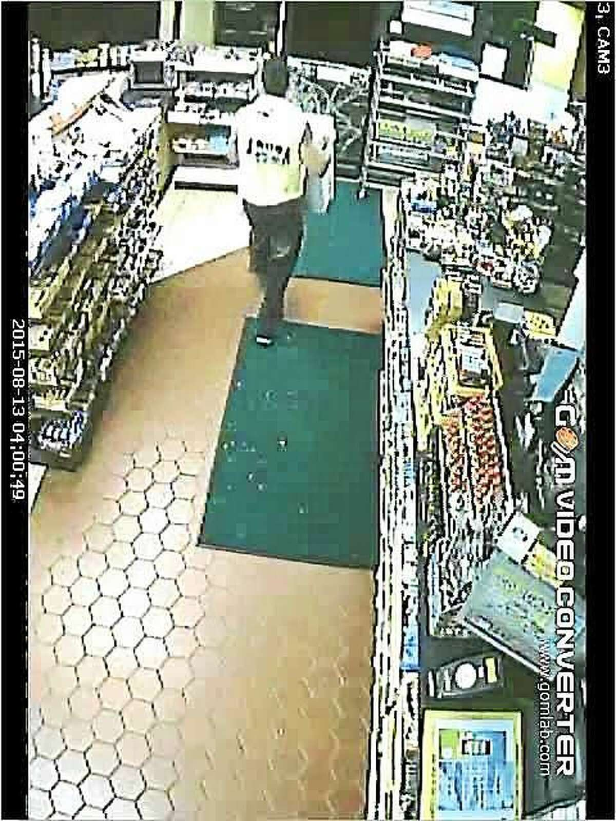 Police are asking for the public's help to identify this man, who they say burglarized a Middletown gas station Thursday.