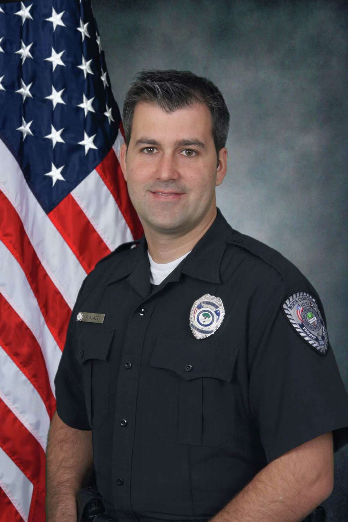 In this undated photo provided by the North Charleston Police Department shows City Patrolman Michael Thomas Slager. Slager has been charged with murder in the shooting death of a black motorist after a traffic stop. North Charleston Mayor Keith Summey told a news conference that city Slager was arrested and charged Tuesday, April 7, 2015, after law enforcement officials saw a video of the shooting following a Saturday traffic stop. (AP Photo/North Charleston Police Department)