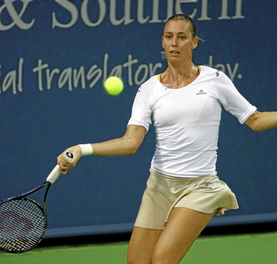 Flavia Pennetta pondered retirement before last year's U.S. Open., but proceeded to advance to the semifinals. Photo: The Associated Press File Photo  / FR51830 AP