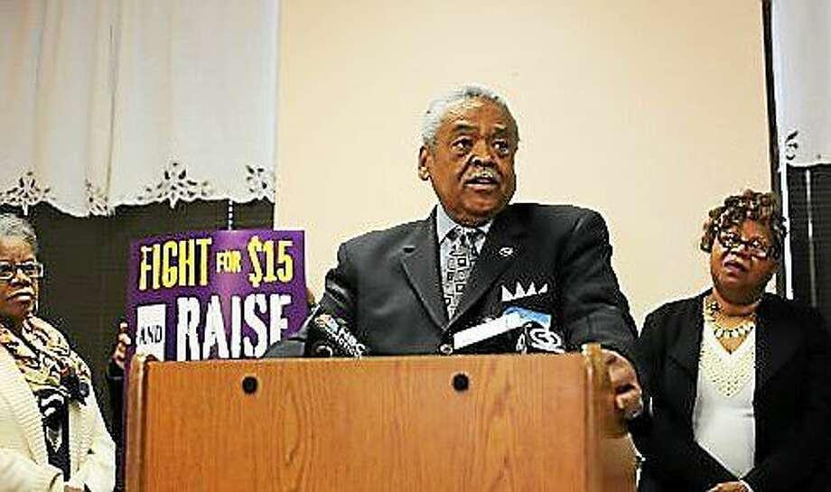 Sen. Ed Gomes, Photo: CHRISTINE STUART —CT News Junkie