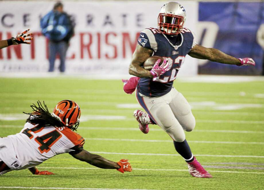 Running back Stevan Ridley agreed to a one-year deal with the Jets on Wednesday. Photo: The Associated Press File Photo  / AP