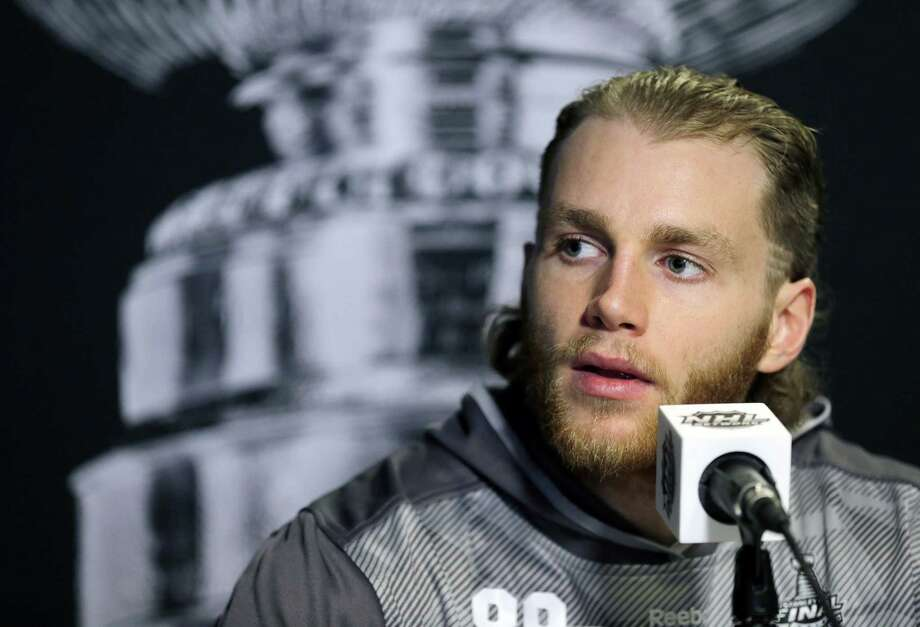EA Sports has dropped Chicago Blackhawks right wing Patrick Kane from its promotional plans for NHL 16. Photo: Chris O'Meara — The Associated Press File Photo  / AP