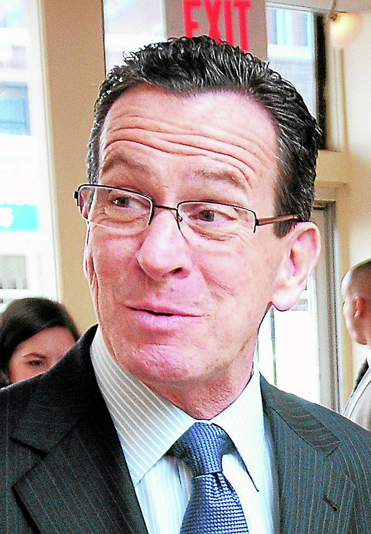 Gov. Dannel P. Malloy. Register file photo
