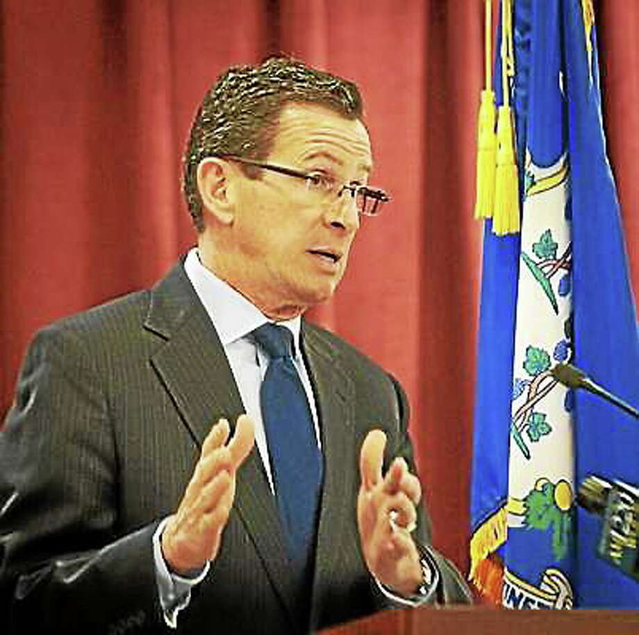 (Melanie Stengel - New Haven Register) Connecticut Gov.  Dannel Malloy in this file photo. Photo: Journal Register Co.