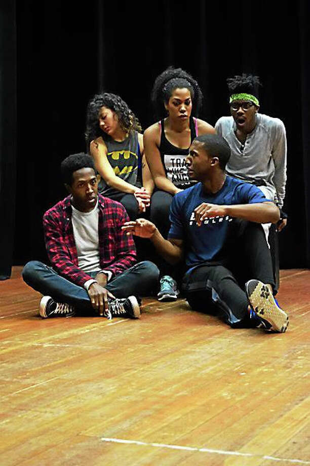 """Contributed photos - Playhouse on ParkThe cast of """"Passing Strange"""" at Playhouse on Park. Photo: Journal Register Co."""