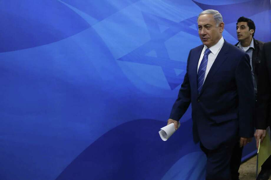 Israel's Prime Minister Benjamin Netanyahu arrives for the weekly cabinet meeting in Jerusalem on Aug. 2. Photo: Gali Tibbon — Pool Photo Via AP  / AFP Pool