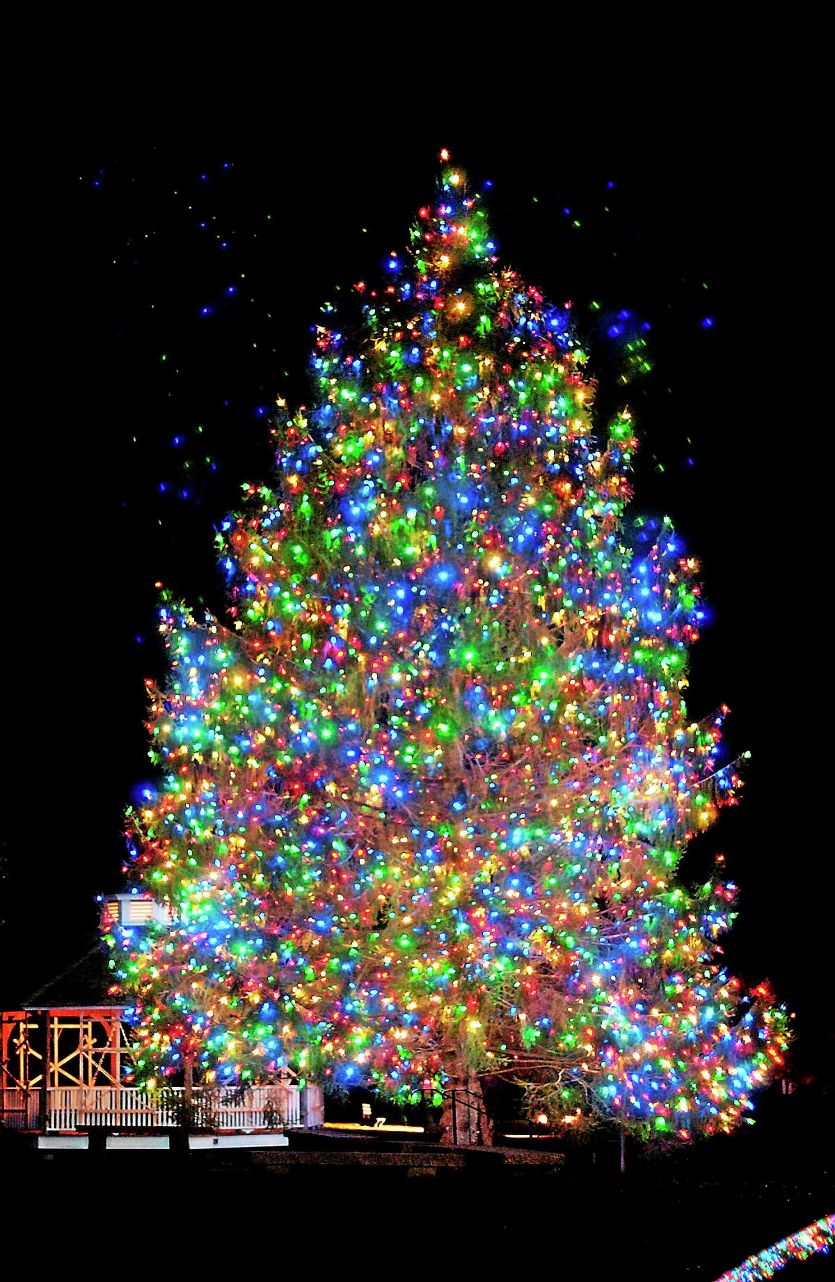 Contributed photoA highlight of the Illuminations celebration in Ivoryton is the lighting of the Christmas tree, which will take place Sunday, Dec. 6.
