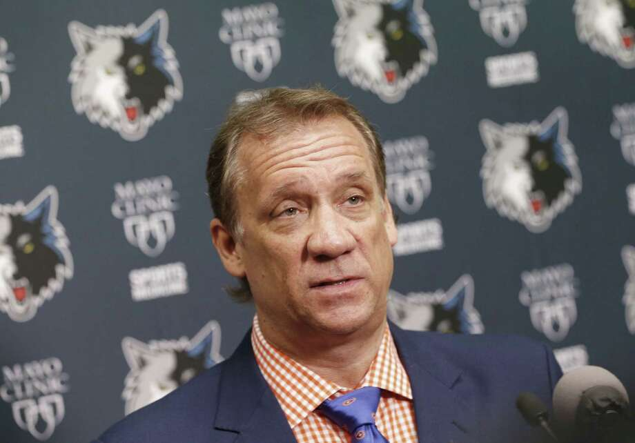 Minnesota Timberwolves president and coach Flip Saunders says he is being treated for cancer. Photo: Jim Mone — The Associated Press File Photo  / AP