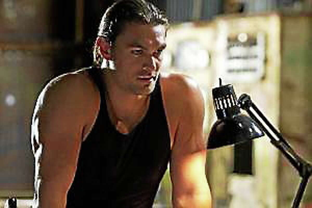 """This film image shows Jason Momoa in a scene from """"Bullet to the Head."""""""