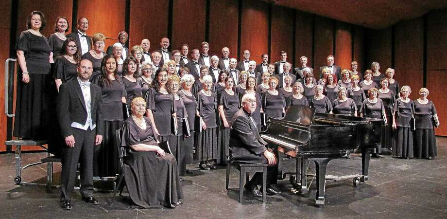 Contributed photo The GM Chorale will perform in Middletown April 26. Photo: Journal Register Co.