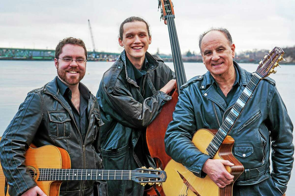 Photo from ameranouche.com Ameranouche, a Gypsy jazz trio, will perform April 17 at the Buttonwood Tree in Middletown.