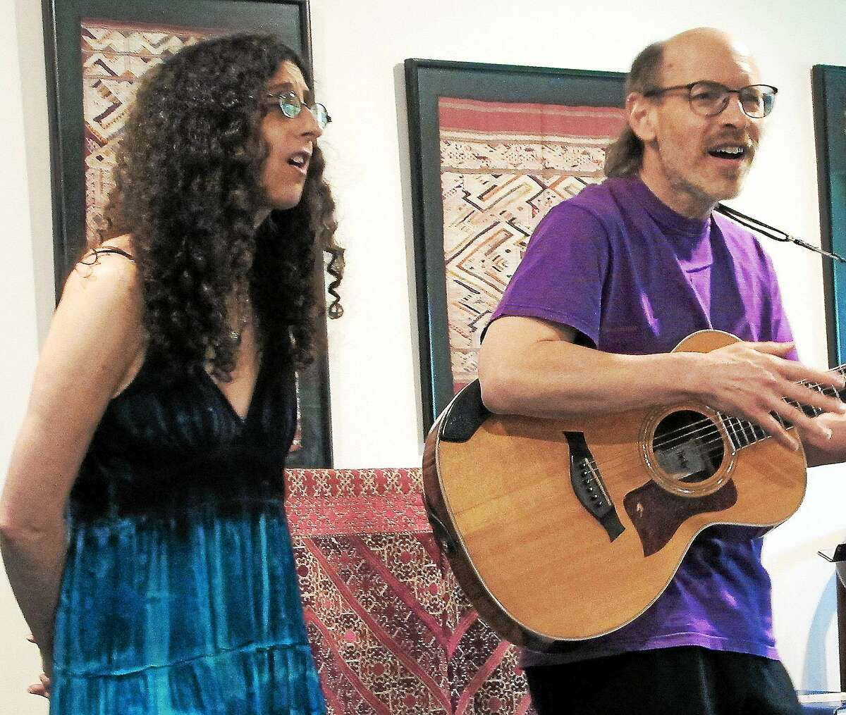 Contributed photo Terry Kitchen and Mara Levine are coming to the Buttonwood Tree in Middletown.