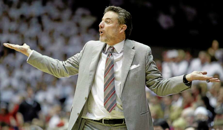 Rick Pitino and Louisville have had plenty of success against UConn in recent years. Photo: Al Behrman — The Associated Press  / AP