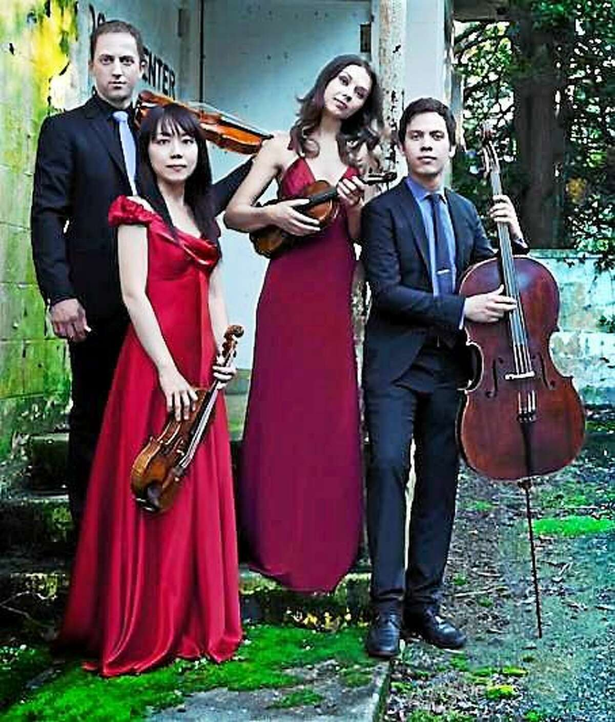 Contributed photo The Attacca Quartet will give a master class at the Community Music School April 20.