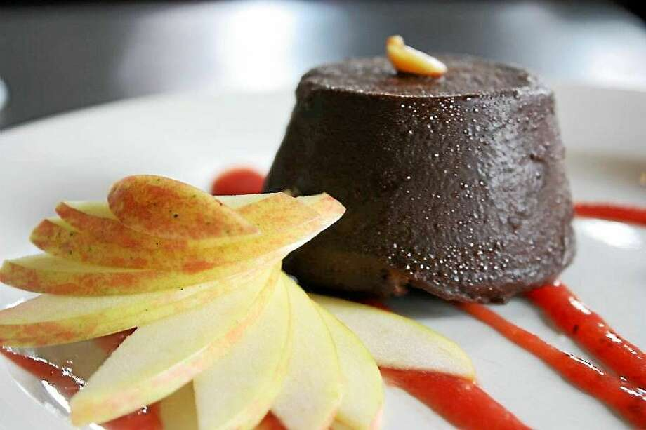 This Frozen Dark Chocolate Treats recipe offers a springboard for toppings or fillings as unique as your own tastes. Photo: I.O.N. Restaurant