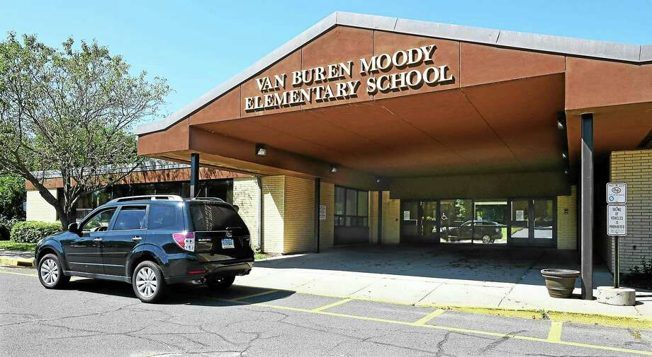 """Van Buren Moody, along with Macdonough elementary school, in Middletown has been identified by the state as having an """"impending racial imbalance."""" Photo: File  / The Middletown Press"""
