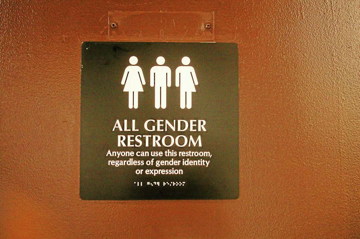 Wesleyan University has an all-gender bathroom in the student center.