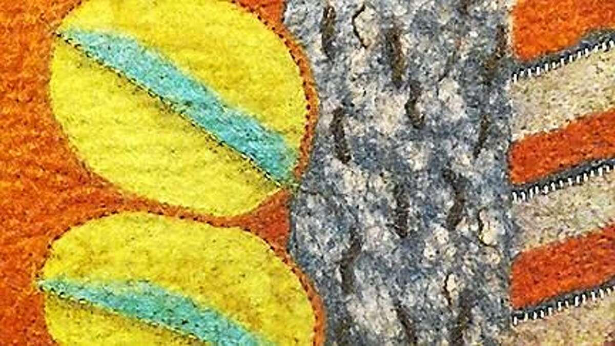 Fibrations by Carol Ingram: An Exhibit of Felted Work Inspired by the Land & People of India.